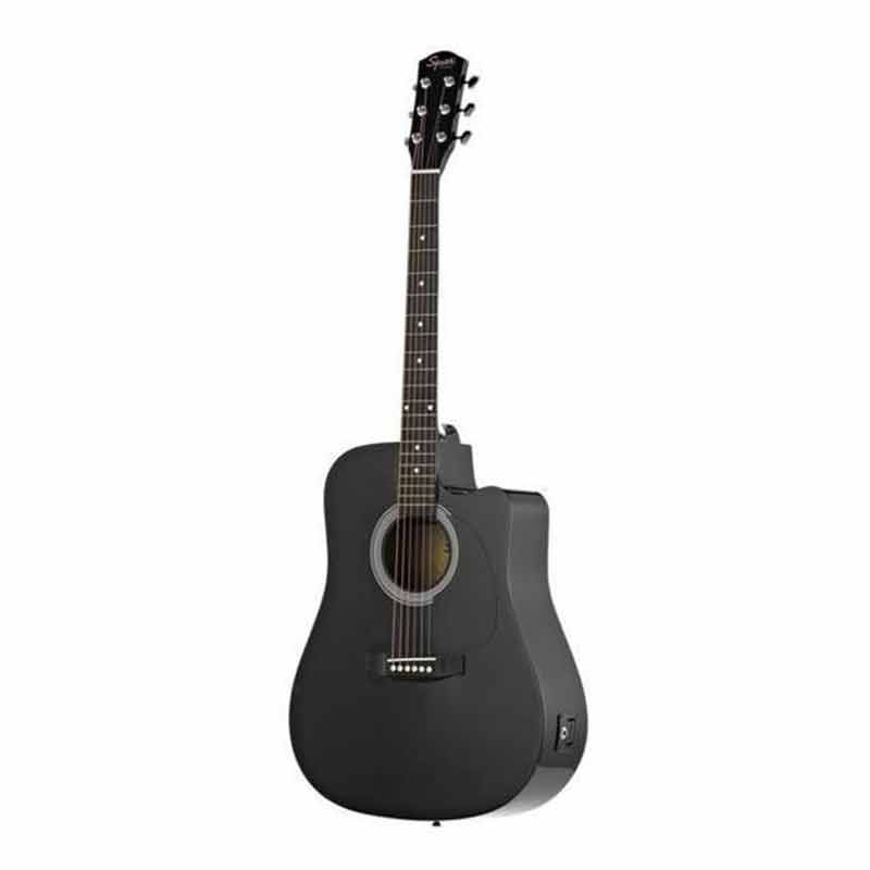 Fender Squier SA 105CE BK Acoustic Guitar Black