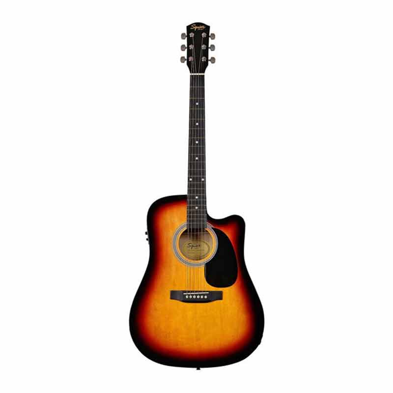 Fender Squier SA 105CE SB Acoustic Guitar Sunburst