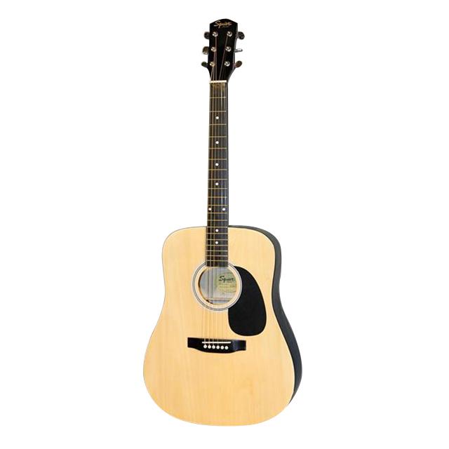 Fender Squier SA 105 N Acoustic Guitar Pack Natural