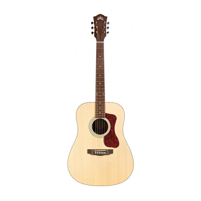 Guild D-240E Semi Acoustic Guitar with AP-1 Pickup Natural