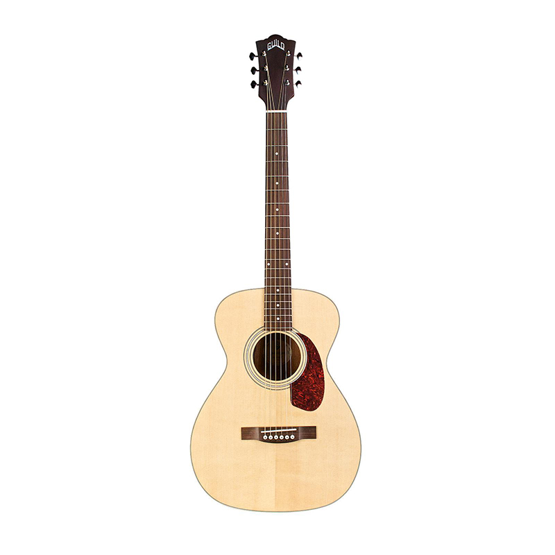 Guild M-240E Semi Acoustic Guitar with AP-1 Pickup Natural