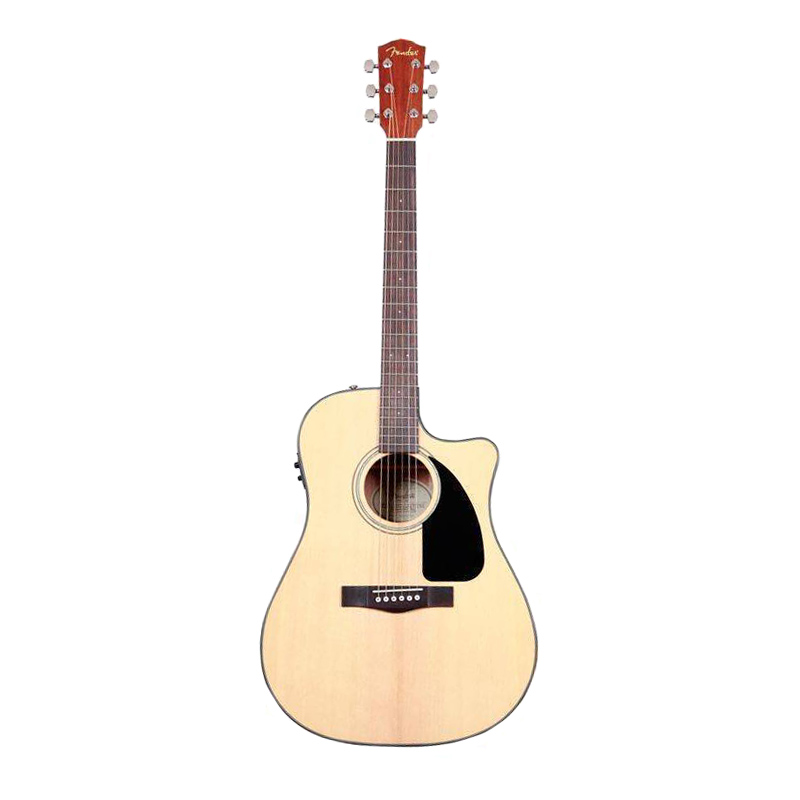 Fender CD 60SCE NAT Acoustic Guitar Natural