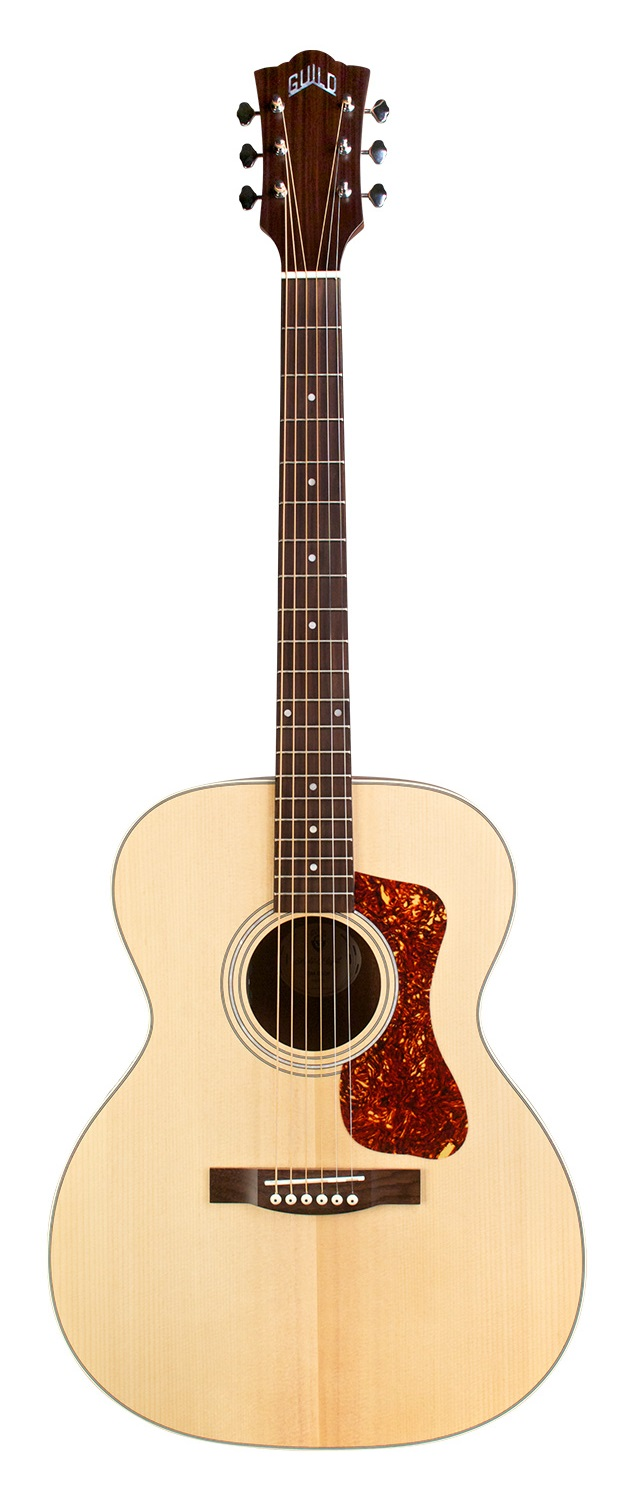 Guild OM-240E Acoustic Guitar with AP-1 Pickup Natural