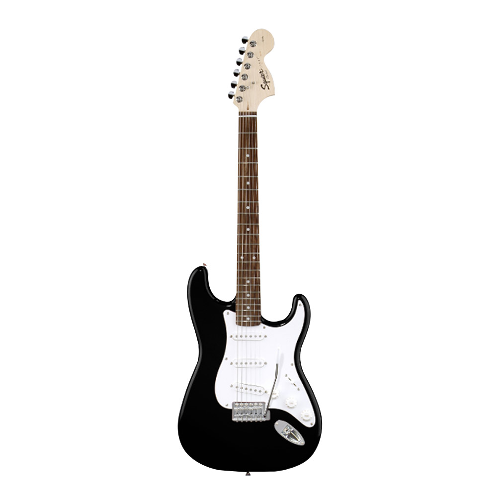 Fender Squier Affinity Stratocaster Electric Guitar Rosewood Fretboard S S S Black