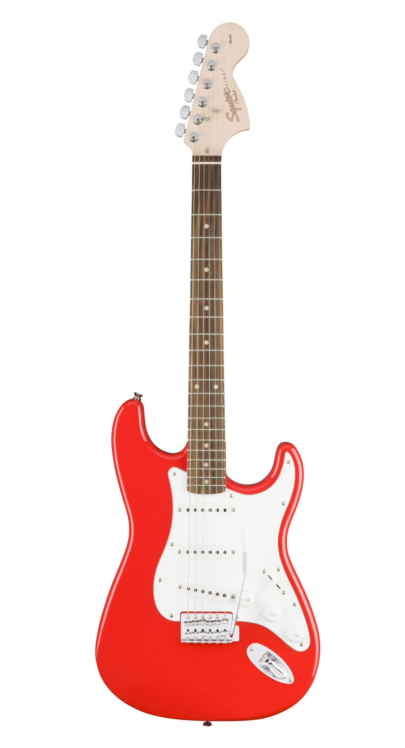 Fender Squier Affinity Stratocaster Electrict Guitar LRL SSS Race Red