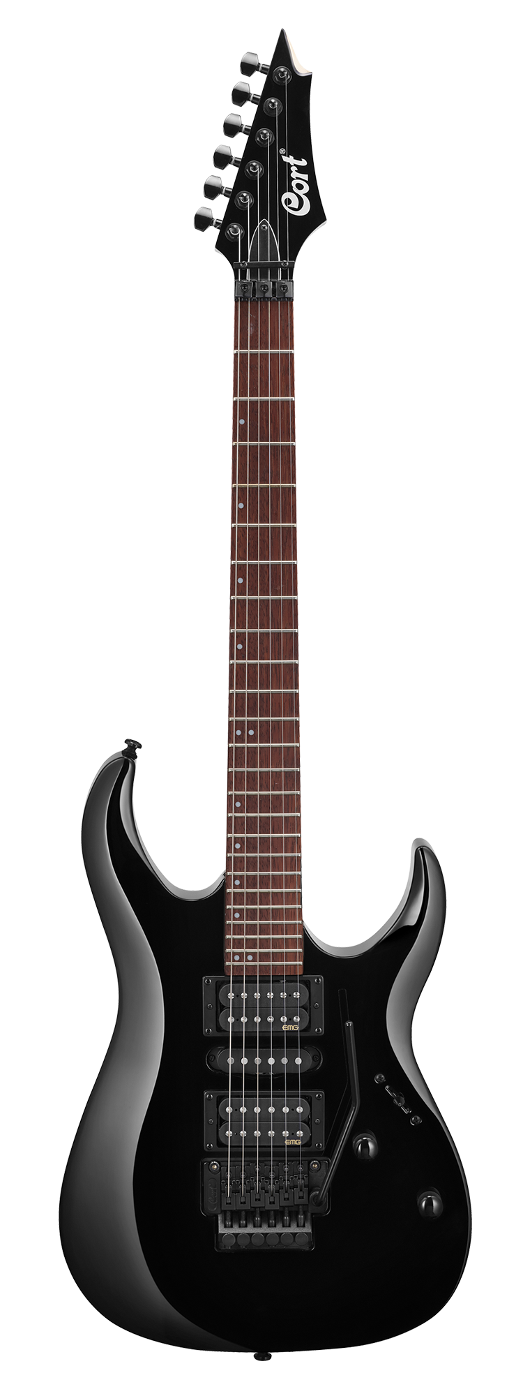 Cort X250 BK Electric Guitar Black