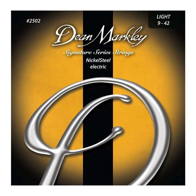 Dean Markley 2502 Light Nickel Steel Electric Guitar Strings 9 -42