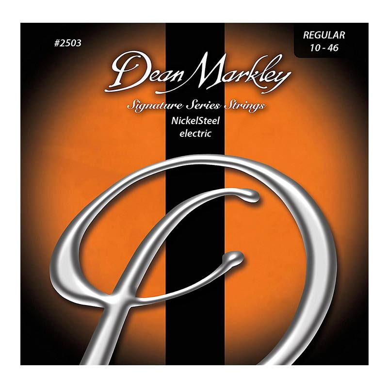 Dean Markley 2503 NickelSteel Regular Electric Guitar Strings 10 -46