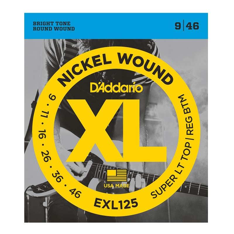 D Addario Electric Guitar Strings XL Nickel .009-.046  Set EXL125