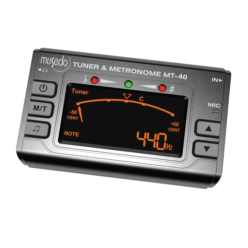 Musedo MT-40 3 in1 Metronome Tuner