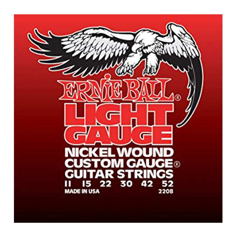Ernie Ball 2208 Nickel Wound Electric Guitar String 11-52