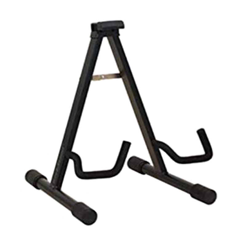 RockStand RS 20801 B/24 Standard A-Frame Guitar Stand for Classical and Acoustic Guitars Black