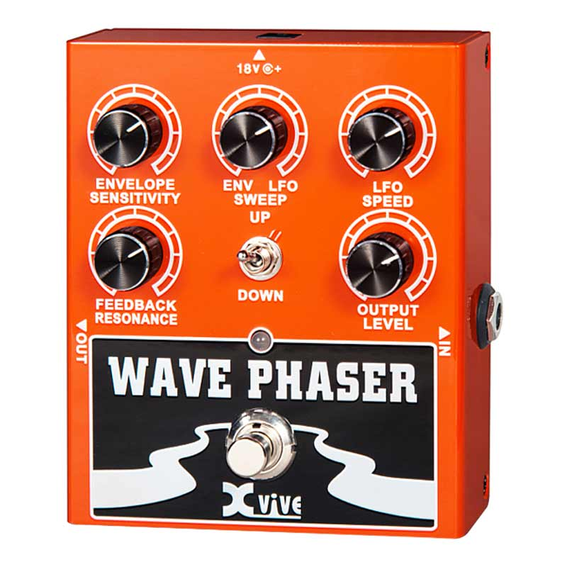 Xvive W1 Wave Phaser Guitar Effect Pedal