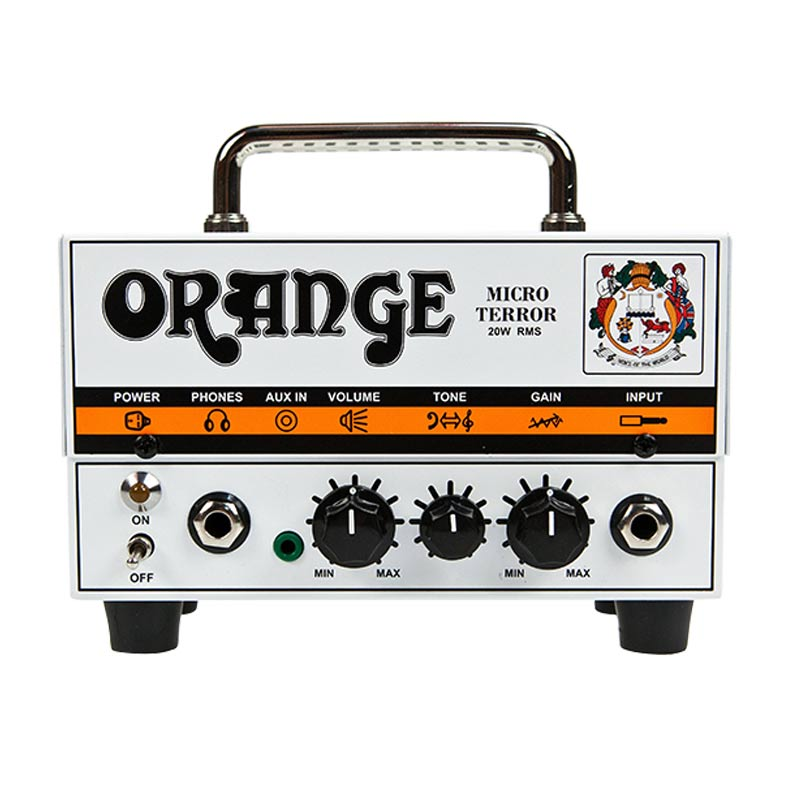 Orange MT20 Micro Terror Valve Hybrid Guitar Amplifier Head 20 Watts