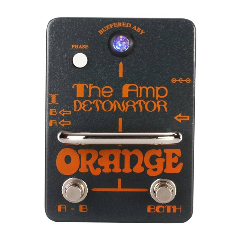 Orange AMP-DETONATOR Buffered AB-Y Switcher Pedal