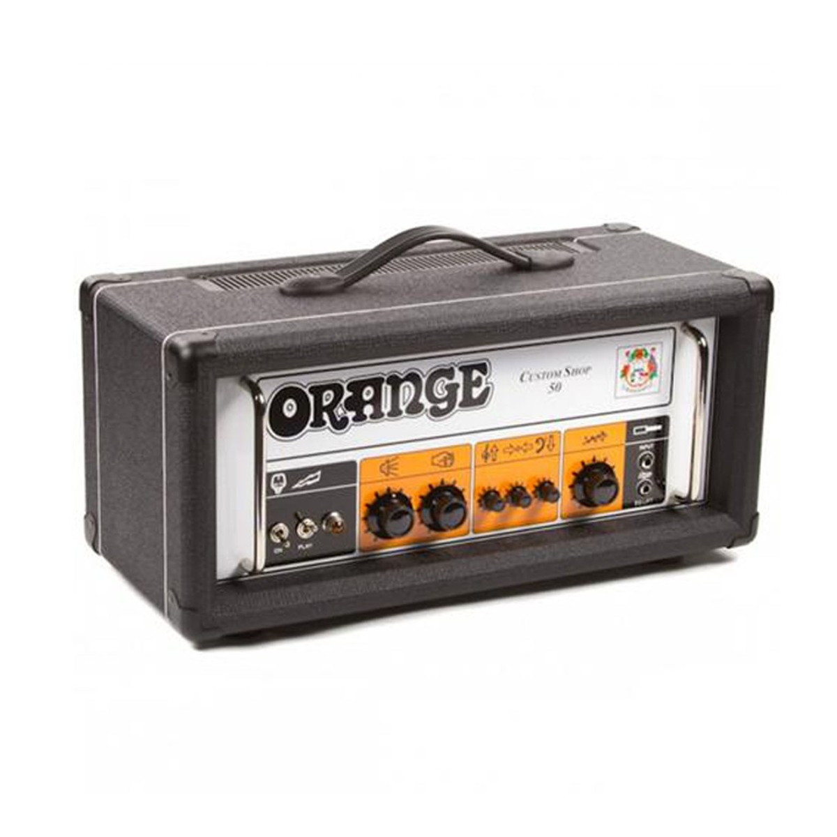 Orange Custom Shop 50 BLK Guitar Amplifier Head 50 watts Black
