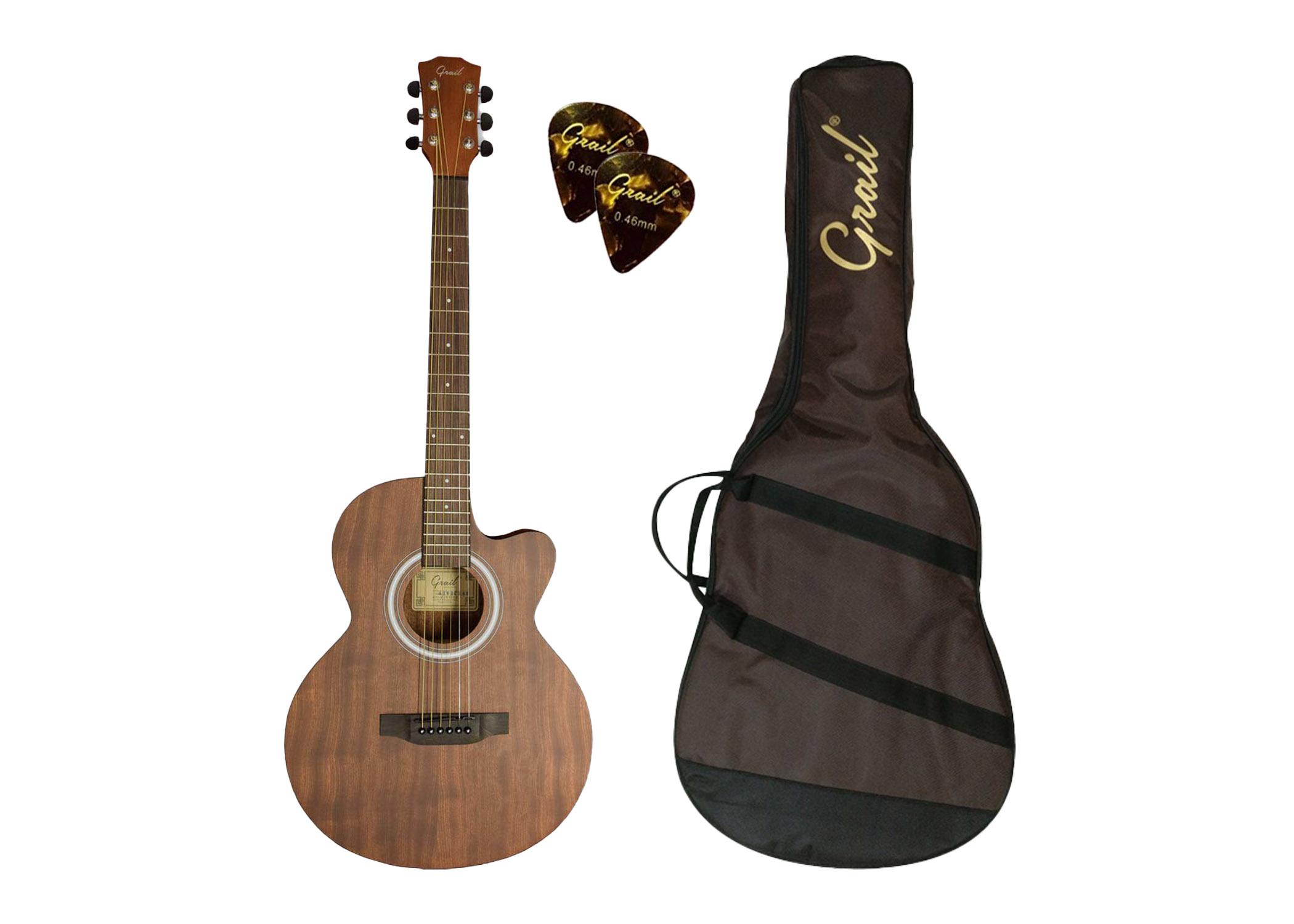 Grail Allure A190C SAS Acoustic Guitar Cutaway All Sapele