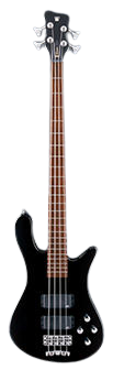 Warwick RockBass Streamer Standard 4 Strings Solid Black High Polish