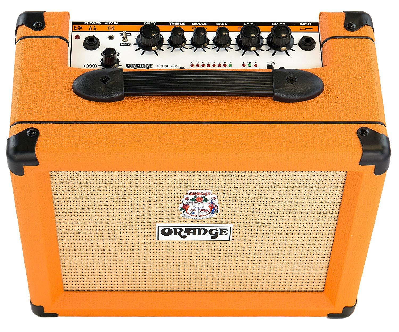 Orange Crush 20RT Guitar Amplifier Combo w/reverb & Tuner 20 Watts