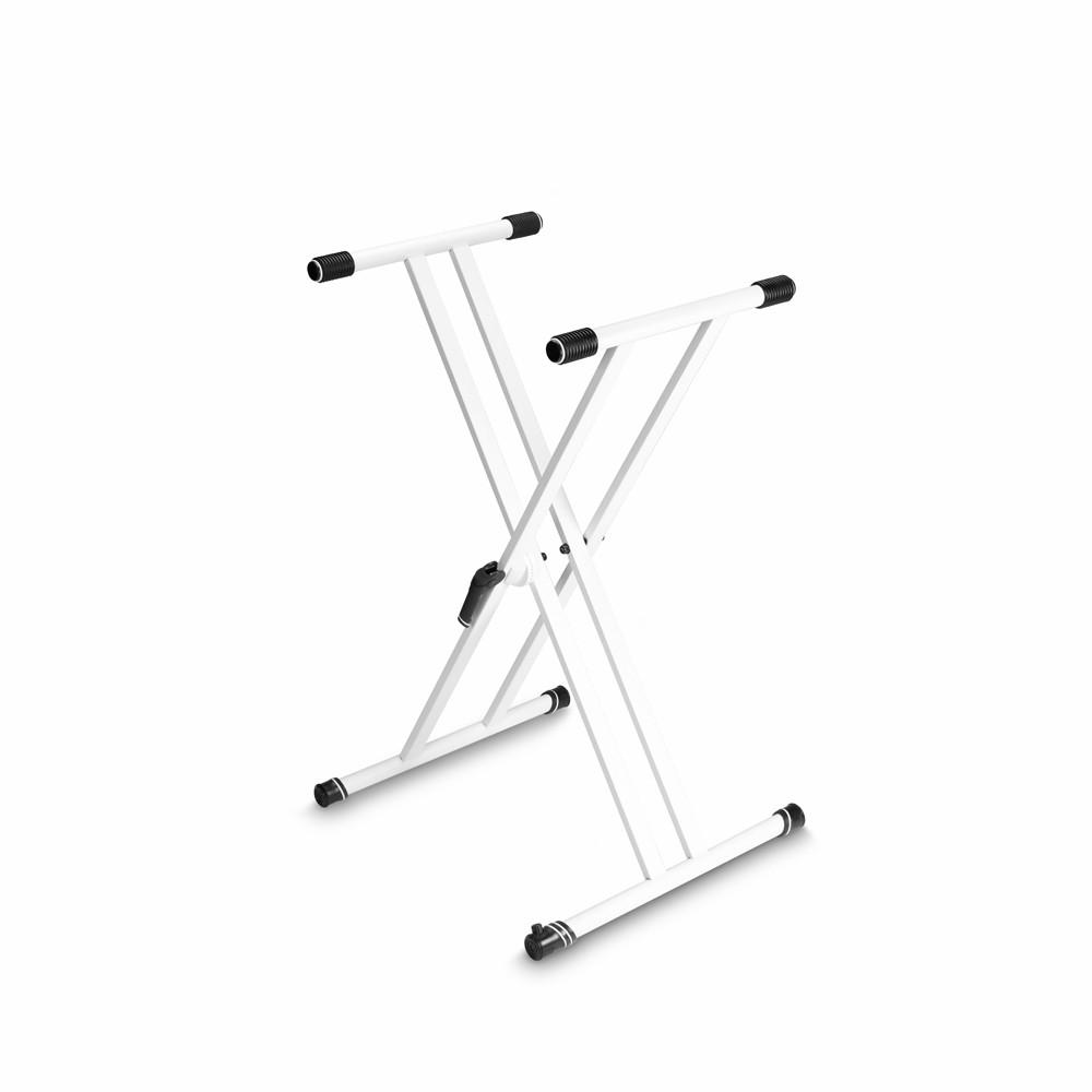Gravity KSX 2 W Keyboard Stand X Form Double White