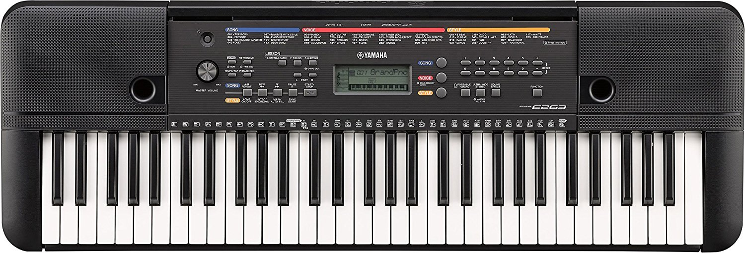 Yamaha PSR E263 Digital Keyboard