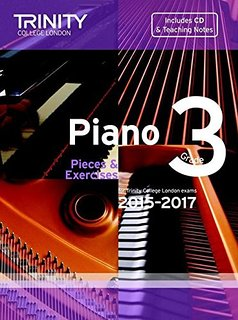 TCL Piano Examination Pieces 2015 to 2017 Grade 3