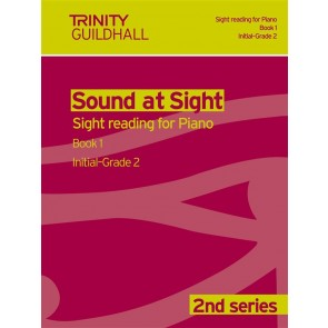 TG Sound at Sight Reading for Piano 2nd Series Book 1 Initial to Grade 2