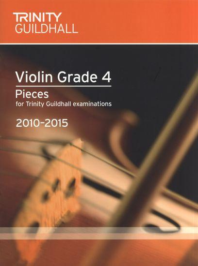 TG Violin Examination Pieces 2010 to 2015 Grade 4