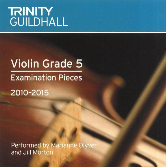 TG Violin Examination Pieces 2010 to 2015 Grade 5