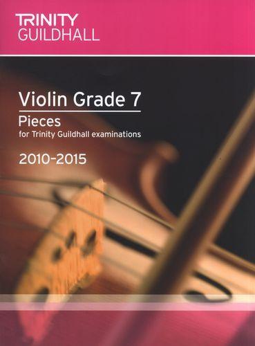 TG Violin Examination Pieces 2010 to 2015 Grade 7