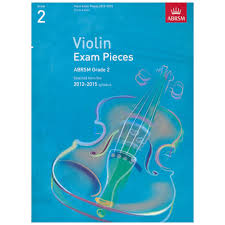 AB Violin Examination Pieces 2012 to 2015 Grade 2