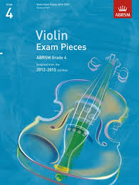 AB Violin Examination Pieces 2012 to 2015 Grade 4