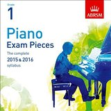 AB Piano Exam Pieces 2015 to 2016 Grade 1