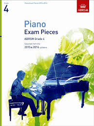 AB Piano Exam Pieces 2015 to 2016 Grade 4
