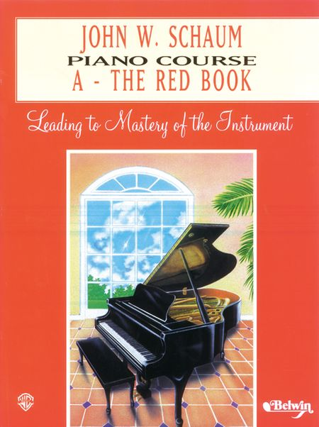 John W Schaum Popular Piano Pieces  A  The Red Book