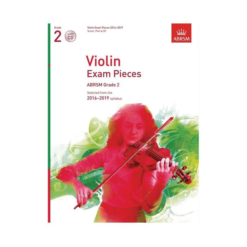 AB Violin Examination Pieces 2016 to 2019  Grade 2