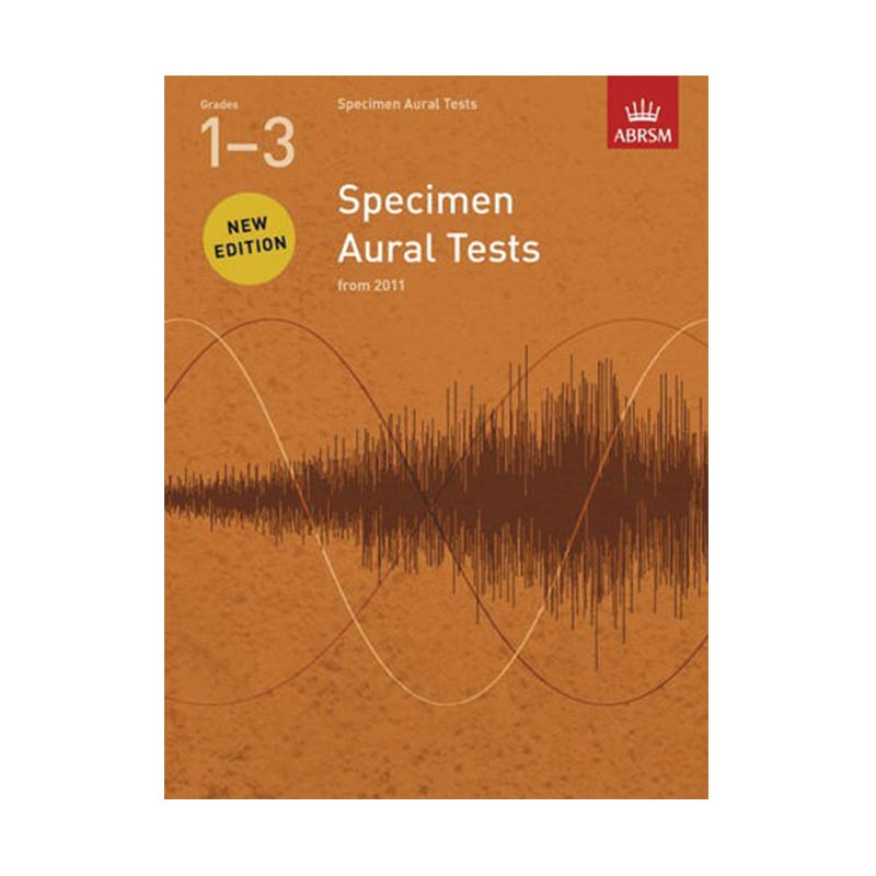 AB Specimen Aural Tests Revised Grades 1 to 3