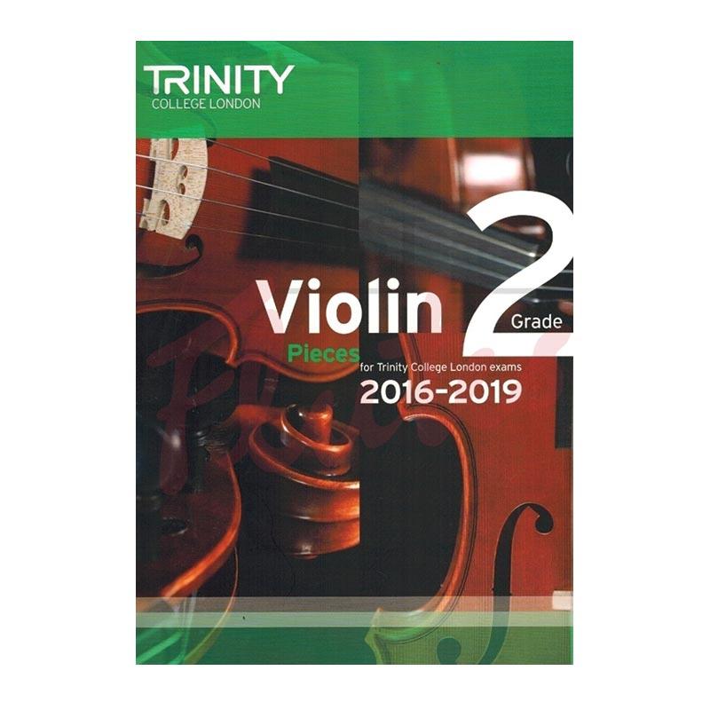 TCL Violin Examination Pieces 2016 to 2019 Grade 2