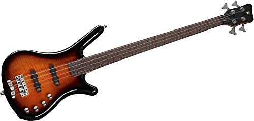 Warwick RockBass Corvette Classic 4 String Almond Sunburst Transparent High Polish