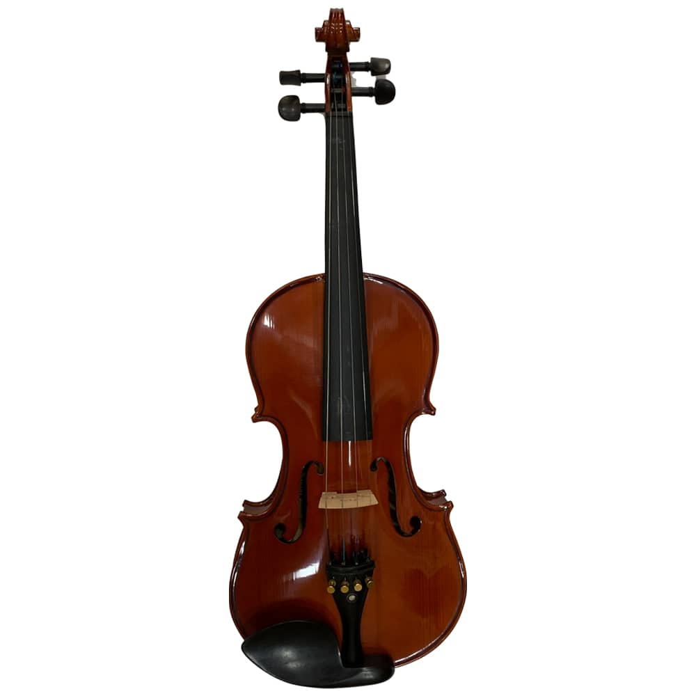Grail SV333 Solidwood violin, Select Spruce and Maple with Ebony