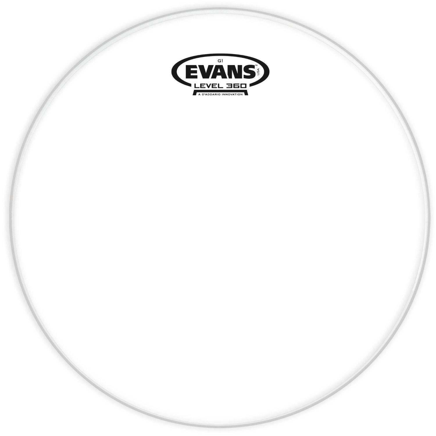 Evans TT10G1 Genera G1 Single Ply Clear 10 Inches Drumhead