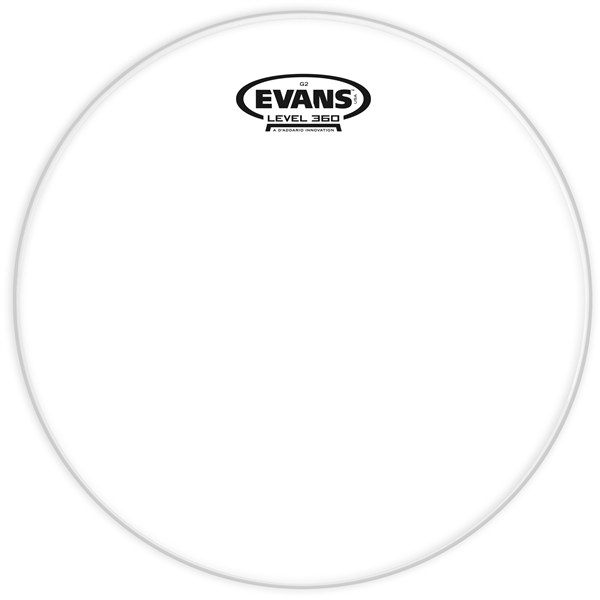 Evans TT14G2 Drumhead Genera G2 Double Ply Clear 14 Inches