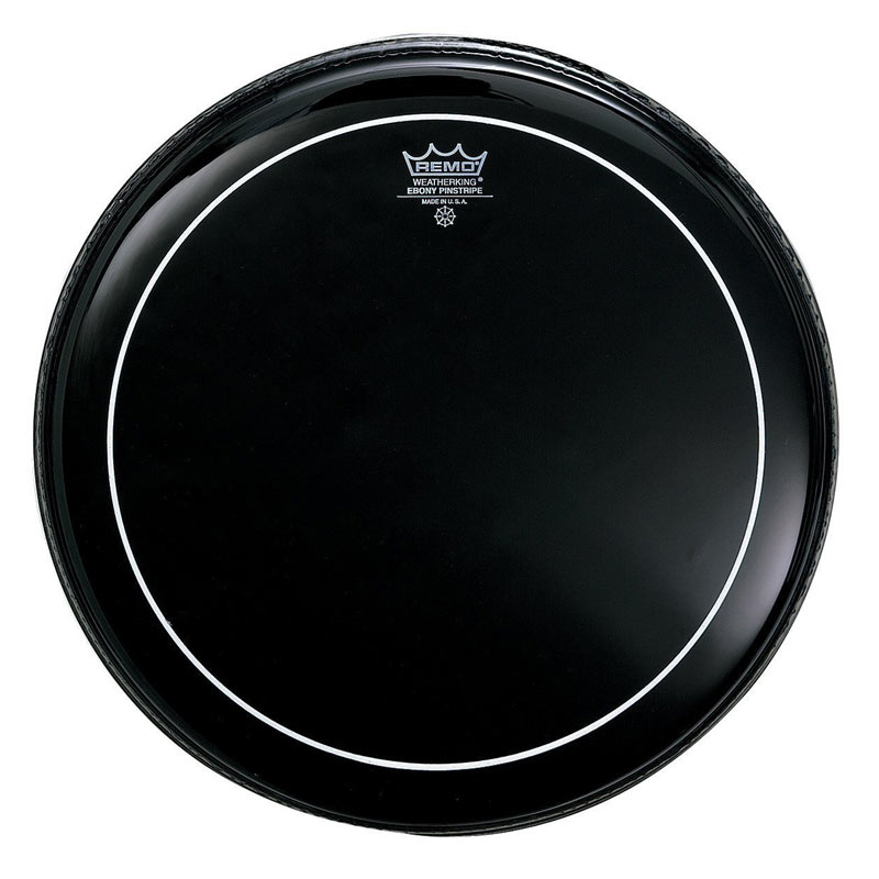 Remo ES0614PS Ebony Pinstripe Drum Head 14 Inches