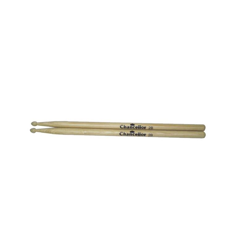 Chancellor 2BWD-M Drumsticks 2B Maple Wood Tip