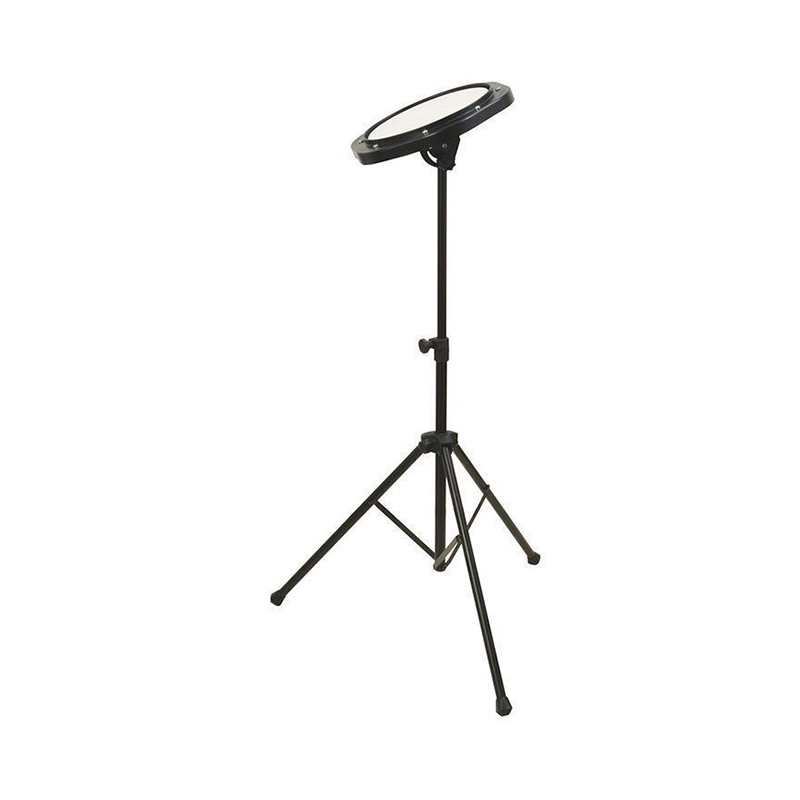 On Stage DFP5500 Drum Practice Pad with Stand and Bag
