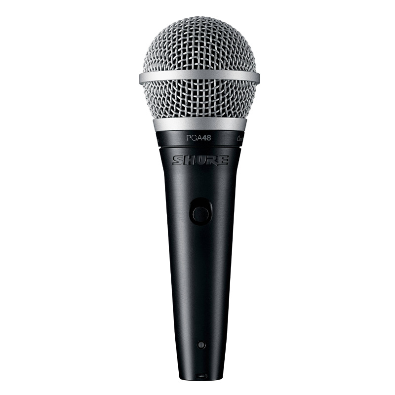 Shure PGA48 LC Cardioid Dynamic Vocal Microphone