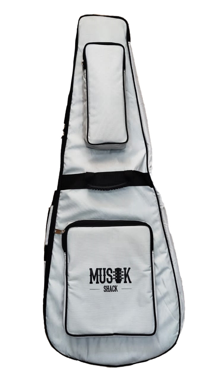 Musikshack Double Padded Acoustic Guitar Bag