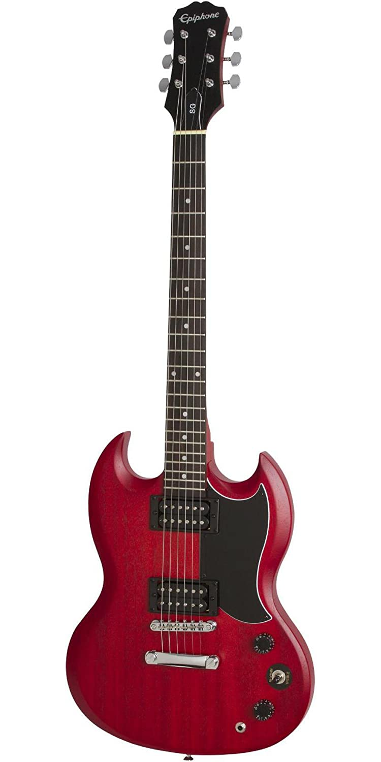 Epiphone SG Special VE Electric GuitarVintage Worn Heritage Cherry