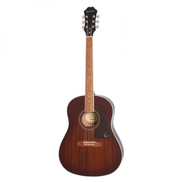 Epiphone AJ 220S Acoustic Guitar Mahogany Burst