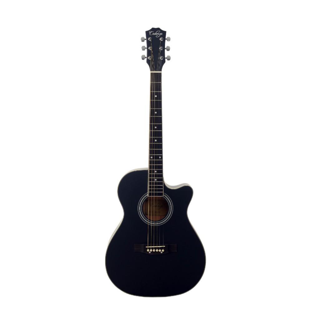 CadenzaQAG-40C BK CutawayAcoustic Guitar Black